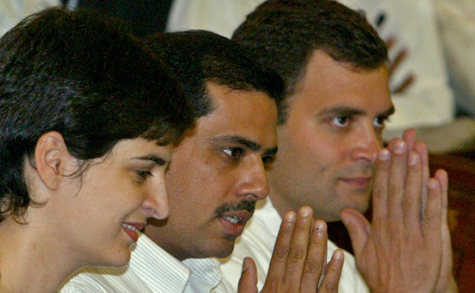 Images: Will Robert Vadra take the plunge into politics?