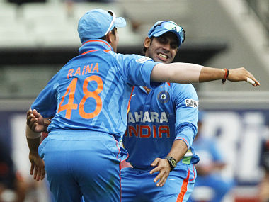 India's Raina and Manoj Tiwary are potential stars as well. But they will need to prove themselves. Reuters