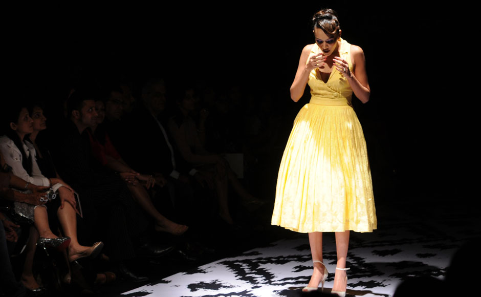 Images: Anita Dongre's collection at Lakme Fashion Week 2012