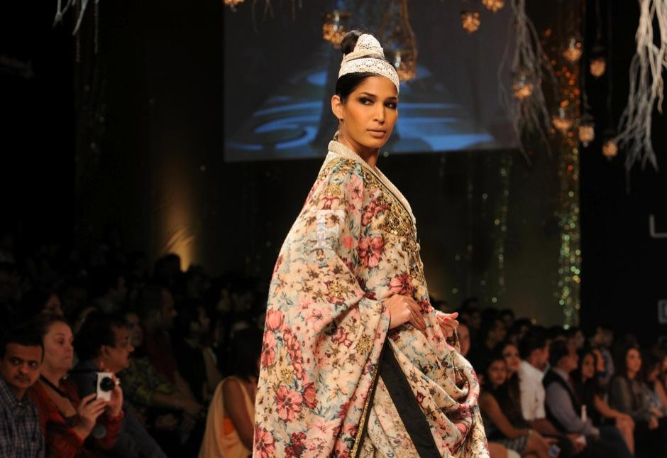 A model walks the ramp for Vikram Phadnis. Raju SHelar/Firstpost