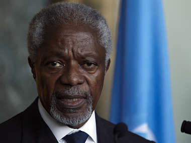 Myanmar names ex-UN chief Kofi Annan to lead panel on Rohingya Muslims