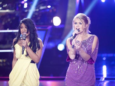 The Voice loses Indian-American, Sharon Mathai