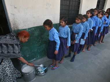 No water no toilet 95 schools in India lack RTE infrastructure