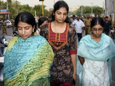 Mother wife call on Jagan in jail