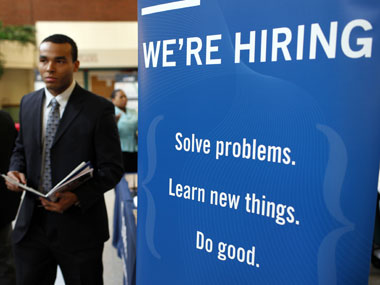 Hiring picks up in April social services lead