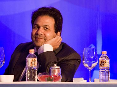 File photo of Rajeev Shukla. Getty Images