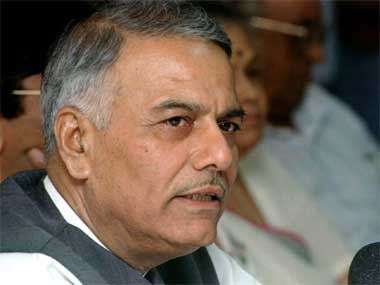 Terrorism, talks with Pak can't go together: Yashwant Sinha
