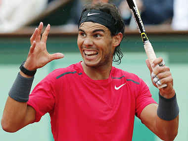 Nadal was pretty livid by the end. AP