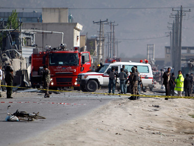 3 US soldiers 18 Afghans killed in suicide attack