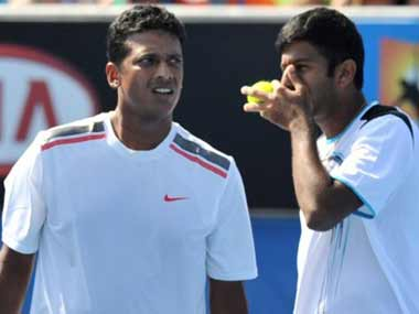 Bopanna-Bhupathi are a no go. AFP
