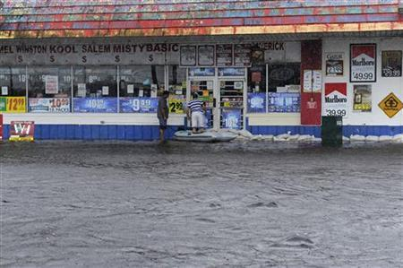 TROPICAL STORM DEBBY RAINS MISERY ON FLOODED FLORIDA | Firstpost