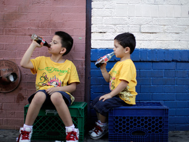 More TV time equals higher consumption of sweetened beverages among children