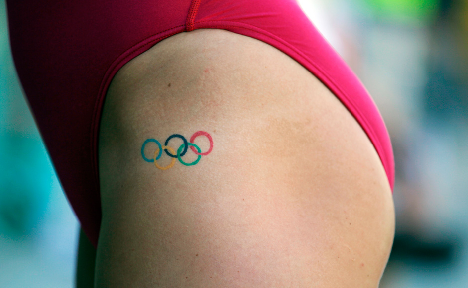 Images: If not an Olympic medal, at least a tattoo?