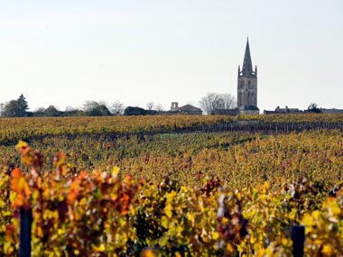 Bacchanalian pleasures in the French town of Bordeaux