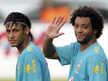 Neymar and Marcelo will be key for Brazil. Reuters