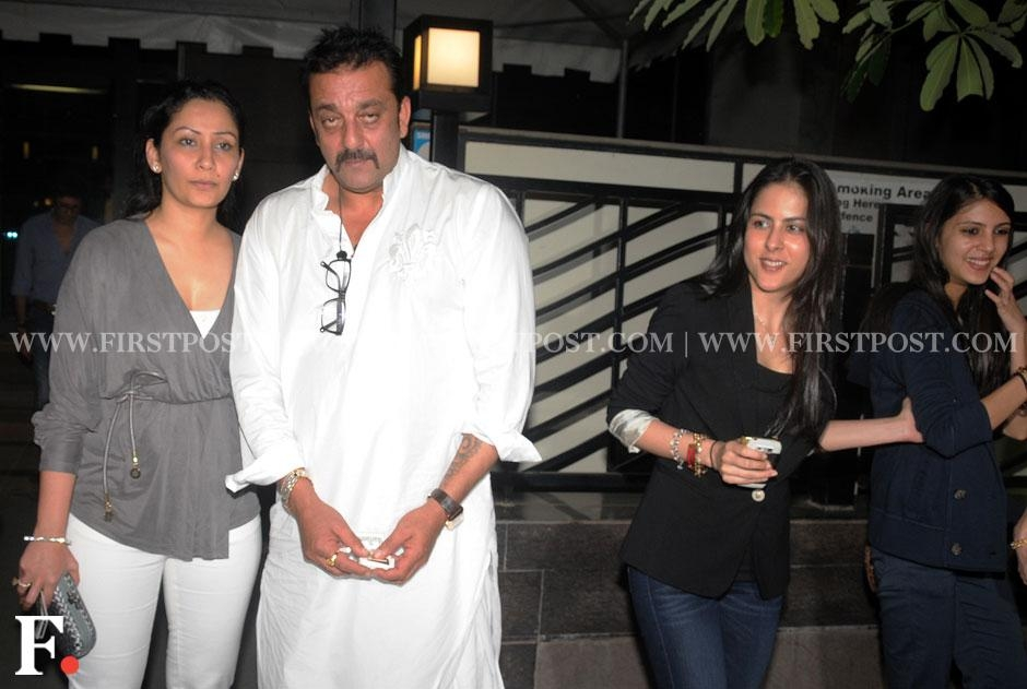 Images: Sanjay Dutt celebrates 53rd birthday with family at Yauatcha