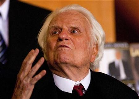 Evangelist Billy Graham In Hospital With Infection