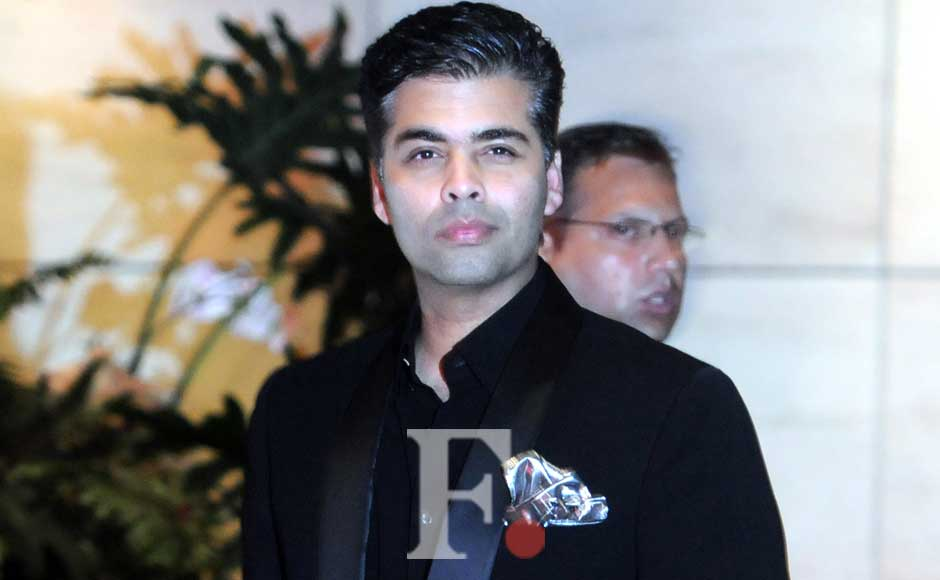 Karan Johar at the party. Sachin Gokhale/Firstpost