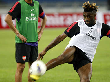Alex Song is the second big name player to leave Arsenal. AP