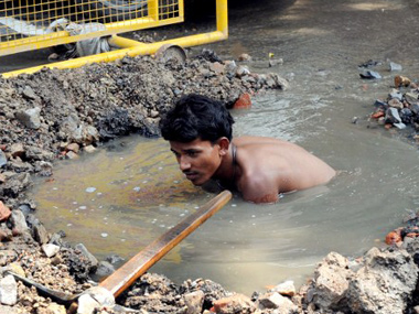 Manual scavenging in India doesnt need denial and politicised narrative on solutions but sanitation policy reforms