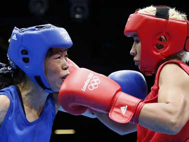 Mary Kom's tactics will be vital. AFP