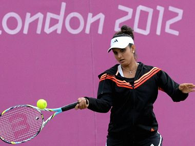 Sania Mirza will hope to form a good partnership with Leander Paes. PTI
