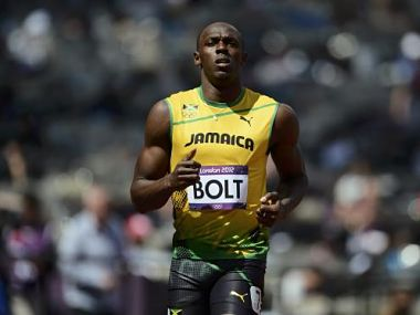Usain Bolt will hope to show that he is number one. Reuters