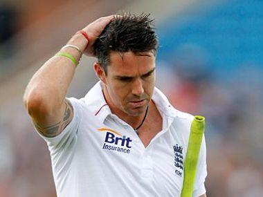 Pietersen is in a fair bit of trouble. AP