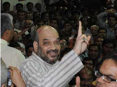 Amit Shah once Gujarat CMinwaiting now faces jail again