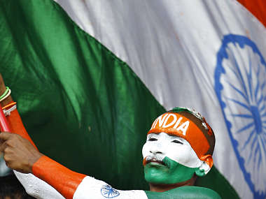 India's fans will be hoping for the best. AP