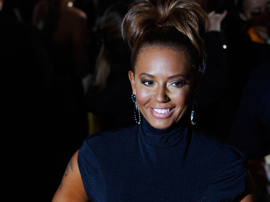 Spice Girl star Mel B goes topless for breast cancer awareness
