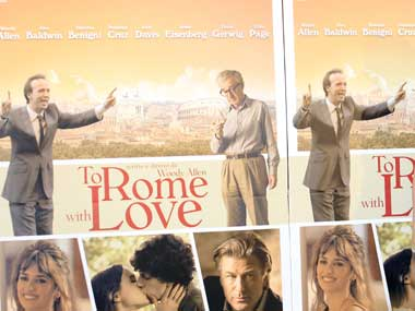 Movie Review To Rome with Love is Woody Allens Roman Holiday times four