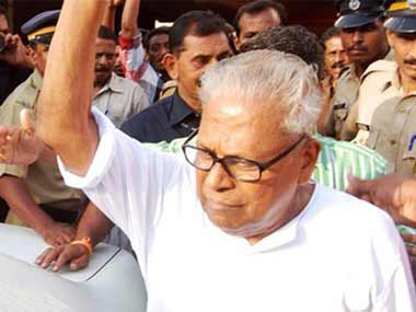 File image of VS Achuthanandan. CNN-IBN