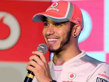 Thank goodness I dont drive in India Lewis Hamilton