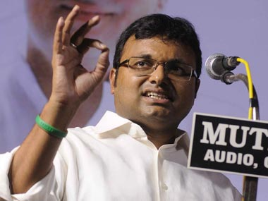 Businessman arrested for targetting Karti Chidambaram on Twitter