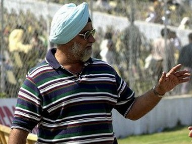 File photo of Bishan Singh Bedi. AFP