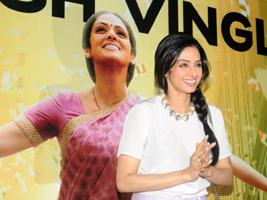 Movie Review Sridevi brings acting back in English Vinglish