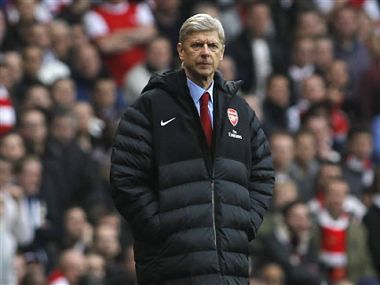 Arsene Wenger needs a win. AP