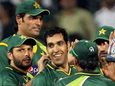 Pakistan's bowler's set up the win. PTI