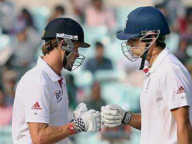 Compton and Cook haven't given India a chance. PTI