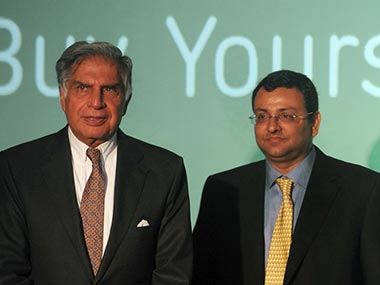 Ratan Tata, incumbent chairman, Tata Sons and Cyrus Mistry, ousted chairman. AFP