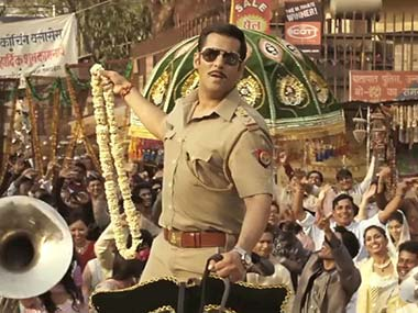 Movie Review In Dabangg 2 Salman stuck to old tics Fevicol se
