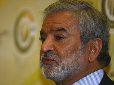 File image of Ehsan Mani. Getty Images