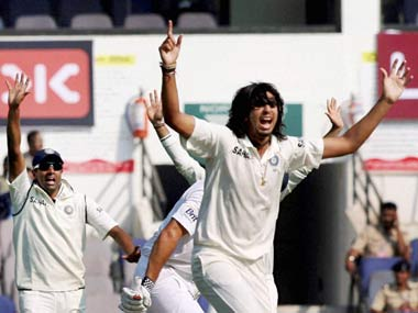 Ishant is bowling well. PTI
