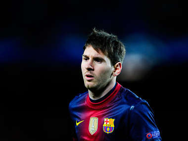 Messi has been superb all year. Getty Images