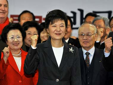 Former dictators daughter is elected SKoreas first female Prez