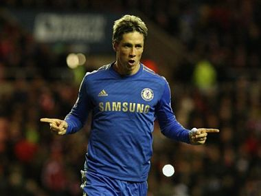 Torres was on target again. AP