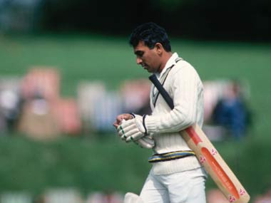 Sunil Gavaskar was a great batsman but India wasn't a great Test team. Getty Images