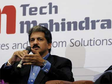 Tech Mahindra surges 5 on BT stake sale