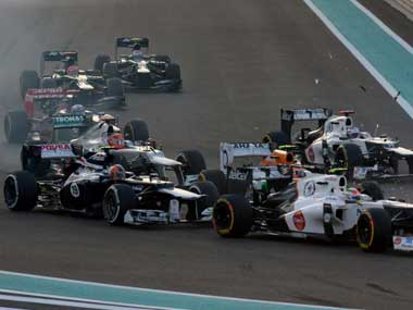 Sports fans will still get their stables on Fox Sports, such as F1. AFP